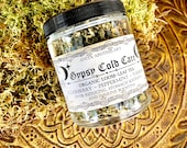 Gypsy Cold Care Tea- Herbal Immune Booster, Elderberry, Yarrow, Peppermint, Witchcraft, Witch, Crone, Apothecary tincture, Gypsy Witch