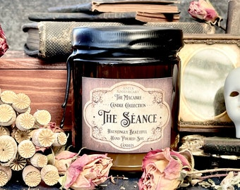 The Seance ~ Anita Apothecary Candles, Ouija Candle, Spiritualism, Victorian Aesthetic, Victorian Accessories, Occult Candles