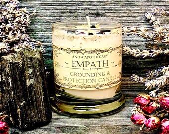 Empath Protection Candle ~ Anita Apothecary, Empath candle, Empath oil, Empath jewelry, Mercury Retrograde candle, sensitive persons
