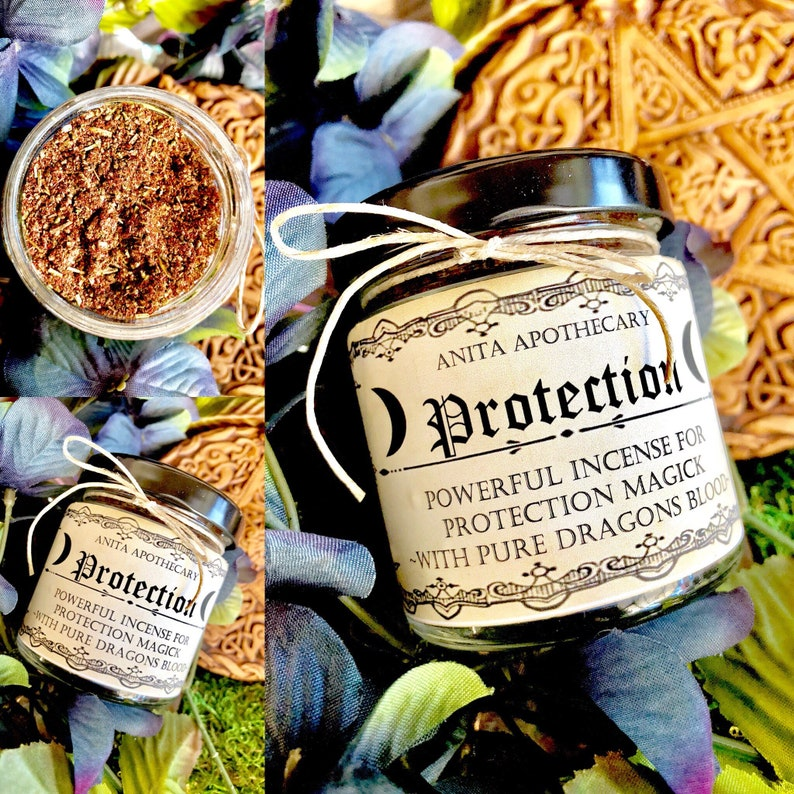 Witches Protection Incense, Witchcraft~Dragons Blood, Magick, Wicca,  Witchcraft, Defense, Ritual, Resin, Altar, Magic, Frankincense, Copal