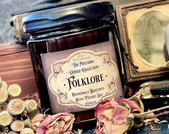 Folklore - Anita Apothecary Candles, Folklore, Victorian Candles, Book Gifts, Myths and Legends, Victorian Candles, Vintage Witch