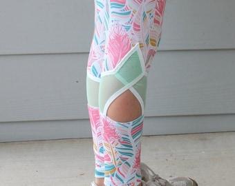 DbCA Diamondback Leggings PDF Pattern - athletic tights style leggings