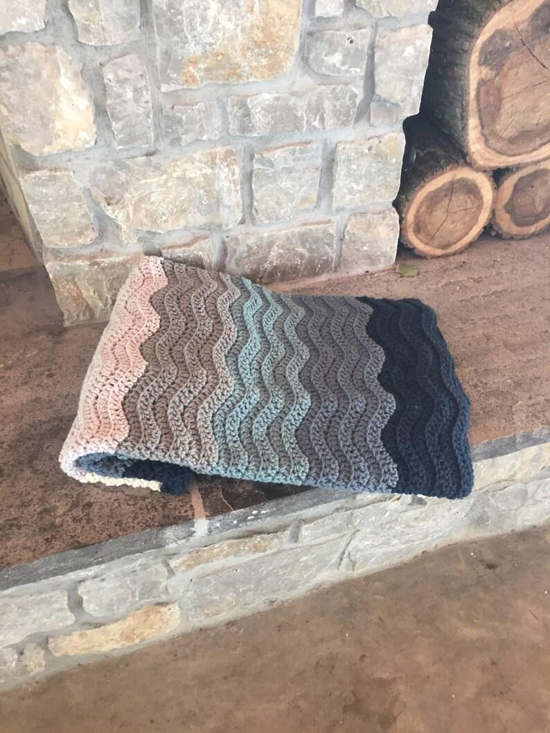 Crochet Pattern Blanket Wedding Gift Colors Crochet Blanket Etsy