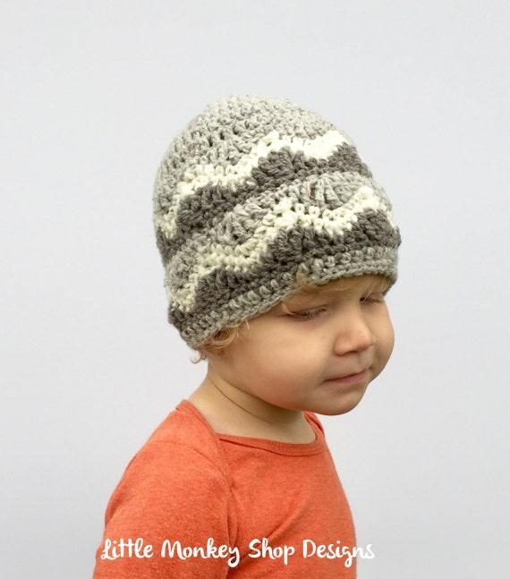 94b68cef4ba Crochet Pattern Ski Hat Chevron Crochet Pattern Ski Hat