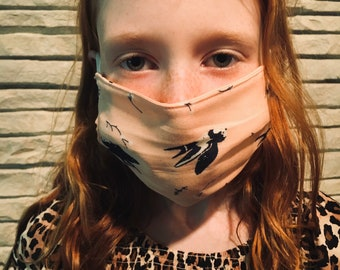 Kid's Reversible Cotton Face Mask - Buy one donate one - Reusable Washable