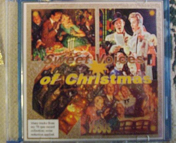 Christmas Music Cd Christmas Compilation Cd Christmas Etsy
