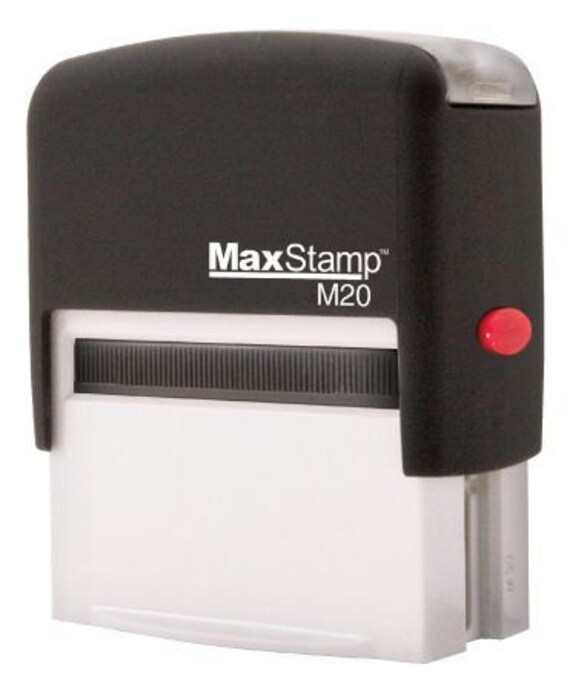 TRODAT/IDEAL 4911 Self-Inking Rubber Stamp