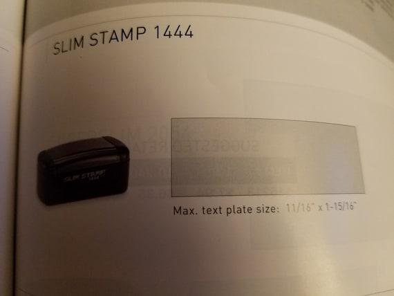 Slim Stamps/Pocket Stamps