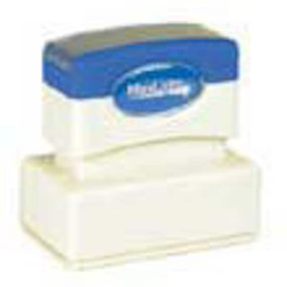 Size XL2-125 Self-Inking Rubber Stamp