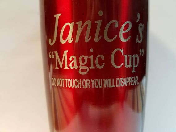 Laser engraved insulated cup 20 ounce  (Magic Cup)
