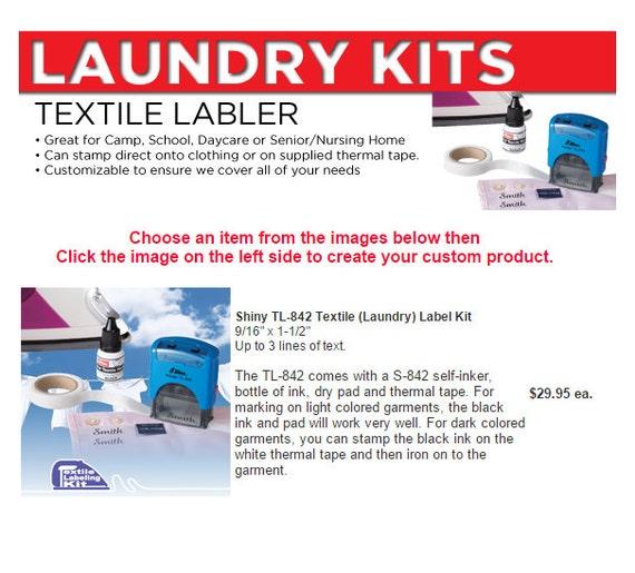 Textile Labler Laundry Kit