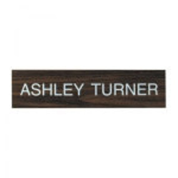 """2"""" X 8"""" ENGRAVED NAMEPLATE"""