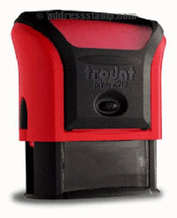 IDEAL 4912 Self Inking Stamp