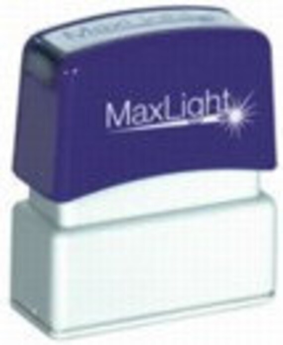 Maxlight XL2-75 self-inking Flash-style stamp