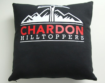 Custom Memory Pillow Made from T Shirt or Sweatshirt - Made to Order from YOUR Shirt
