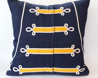 Custom Marching Band Uniform Pillow Cover -  Memory Pillow - Mar