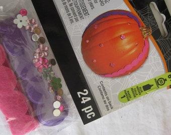 Items Similar To Halloween Craft Kit, Pumpkin Decorating ...