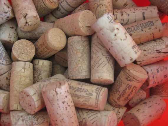 Wine Corks Used For All Your Cork Craft Projects 50 Pc Etsy