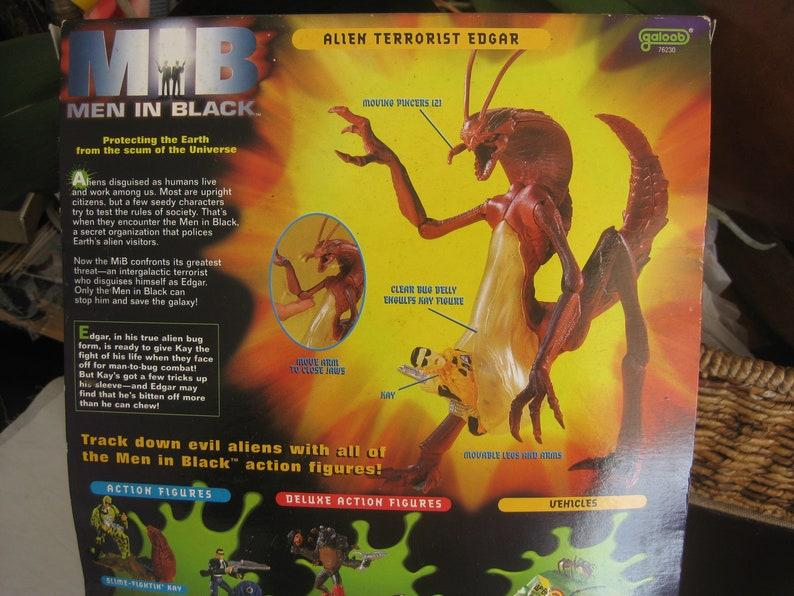 Collectible Men in Black action figure EDGAR the alien terrorist great collection addition. vintage in original box