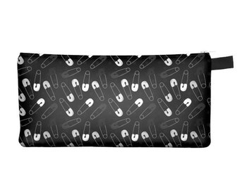 Safety Pins Pencil Case - Free shipping USA and Canada