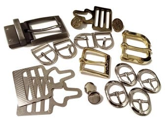 Mixed Lot Metal Belt Buckles OOAK
