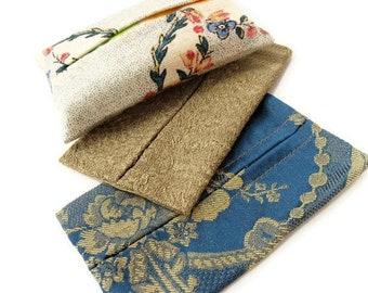 Pocket tissue holder sewing pattern - tutorial PDF download