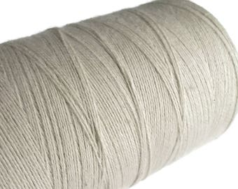 Natural Organic Cotton Cord 0.7mm - 10 meters / 32.8 ft