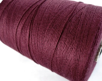Burgundy Twine Bamboo Cord 0.7mm - 10 meters / 32.8 ft