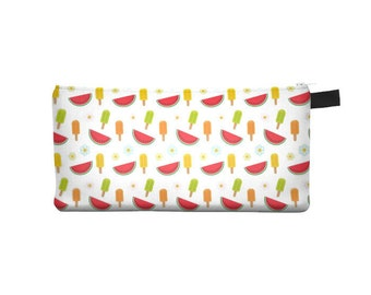 Cold Watermelon Pencil Case - Free shipping USA and Canada