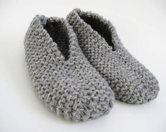 Knitting Kit: Easy Slippers