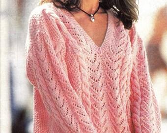 4 Modèles ajourés au tricot et crochet