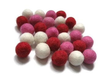 Felt Wool Balls - Shapes