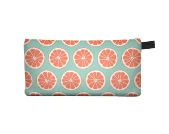 Grapefruit Pencil Case - Free shipping USA and Canada