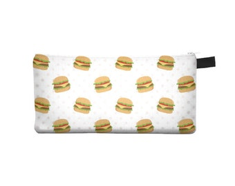 Hamburger Pencil Case - Free shipping USA and Canada