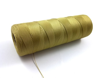 Vintage general twine 0.5mm - full spool - gold