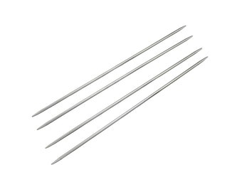 One dollar SALE Stainless Steel Double Pointed Knitting Needles 2.75mm, 3mm or 3.25mm