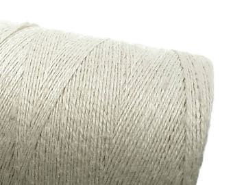 Natural Hemp Cord 0.7mm - 10 meters / 32.8 ft