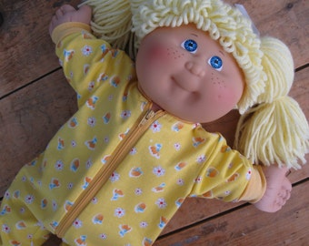DIY Doll Pajama Sewing Patterns and Tutorial PDF download