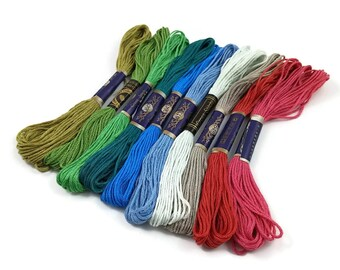 Cotton Embroidery Thread - Mixed Color