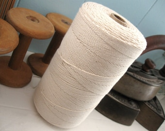 Twisted Cotton Seine Twine Natural - 16 feet