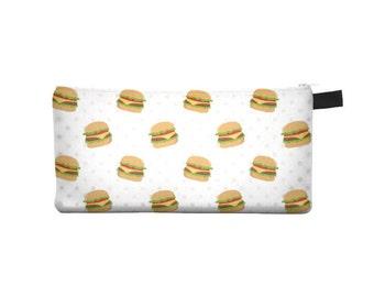 Hamburger Pencil Case - Free shipping USA and Canada