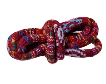 "One dollar SALE Ethnic Cotton Jewelry Rope - Red Wine 6.0mm (1/4"")"