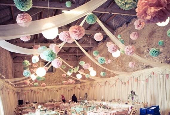 75 Bulk Tissue Pompoms Wholesale Price Custom Colors Wedding