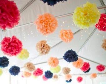 50 bulk price tissue paper pompoms custom wholesale wedding decorations party decorations large venue tent aisle marker arch bar bat mitzvah