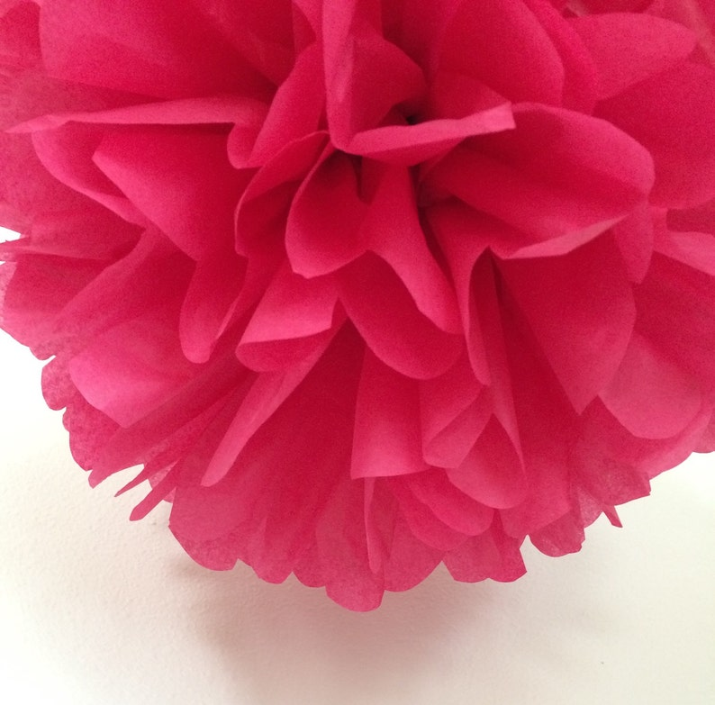 CRANBERRY Tissue Paper Pompom Wedding Ceremony Decorations Arbor Archway Aisle Marker Poms 30th Birthday Party Decor Dirty Thirty