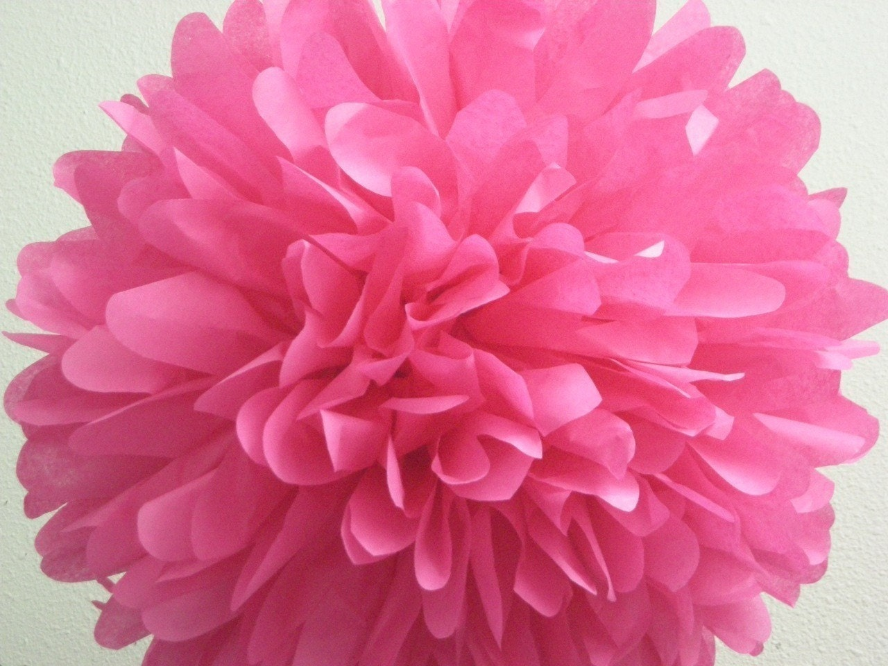 Hot Pink Tissue Paper Pompom Star Vs The Forces Of Evil Party Etsy