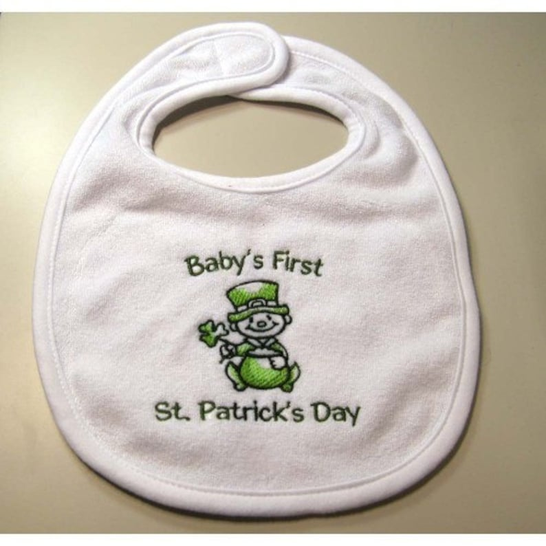 Baby's First St. Patrick's Day Bib   Small image 0