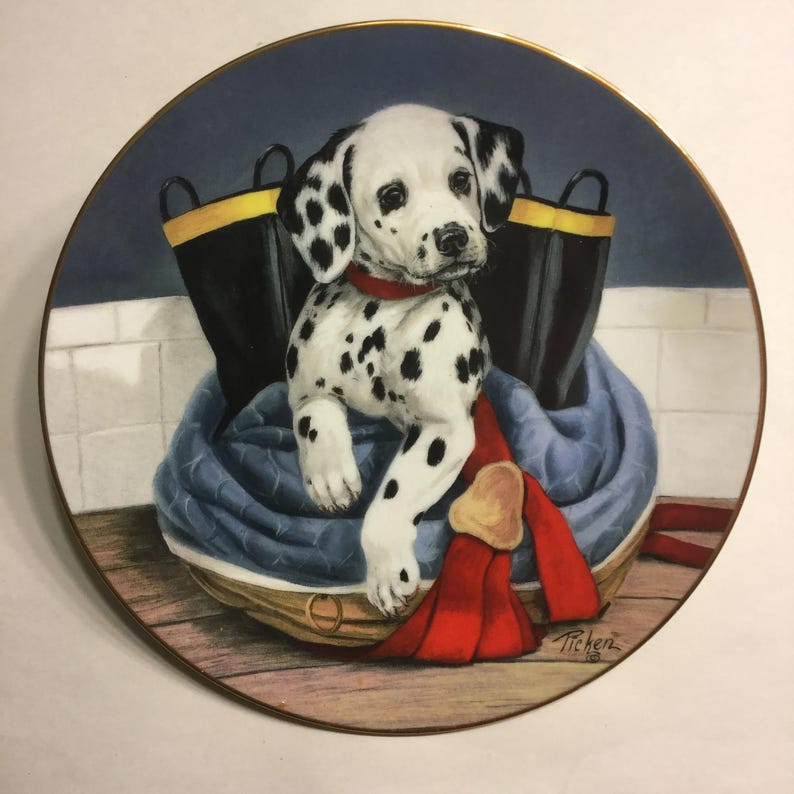 Dalmatian Plate Pup in Boots Limited Edition by image 0