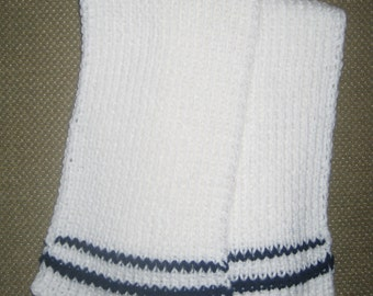 New Warm and Soft Hand Knit Scarf