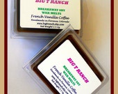 French Vanilla Coffee - Breakaway Melts - 100 Soy - Free U.S. Shipping - Tarts - Highly Scented